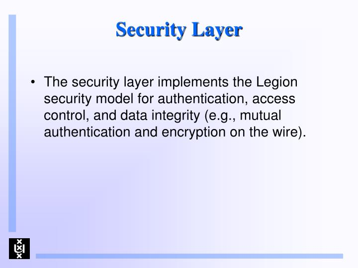 Security Layer