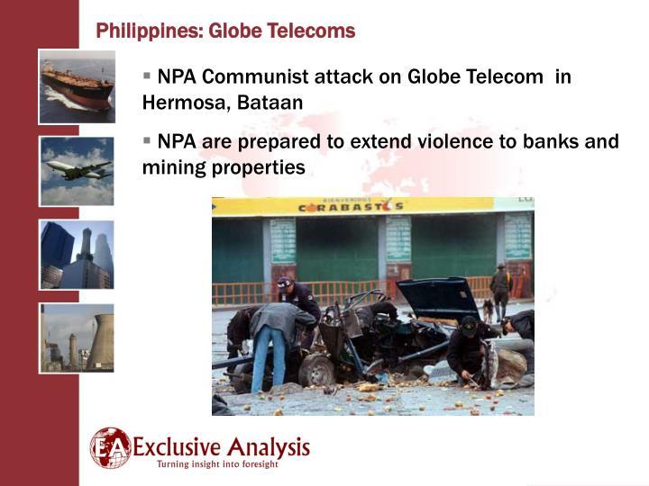 Philippines: Globe Telecoms
