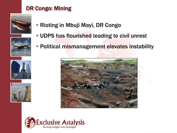 DR Congo: Mining