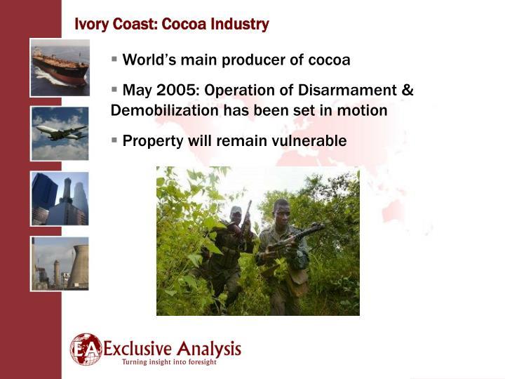 Ivory Coast: Cocoa Industry