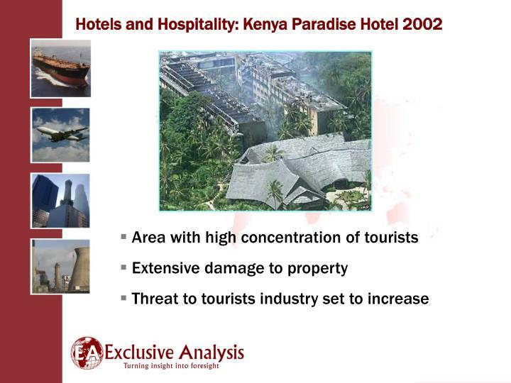 Hotels and Hospitality: Kenya Paradise Hotel 2002