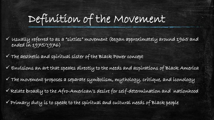 Definition of the Movement