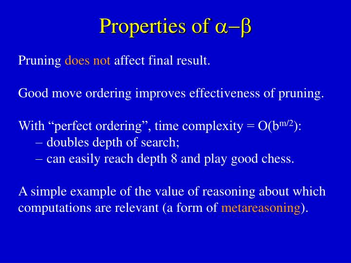 Properties of 