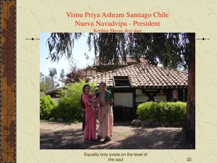 Visnu Priya Ashram Santiago Chile