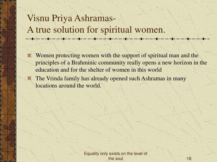 Visnu Priya Ashramas-