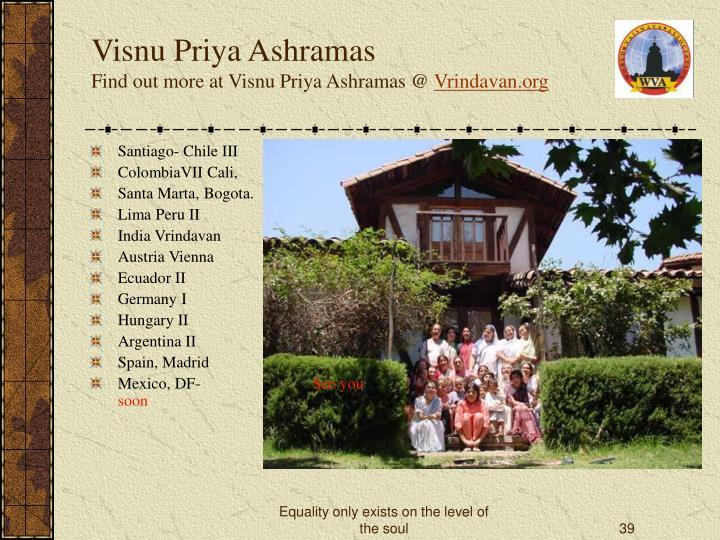 Visnu Priya Ashramas
