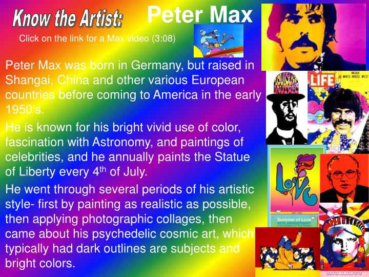 Know the Artist: