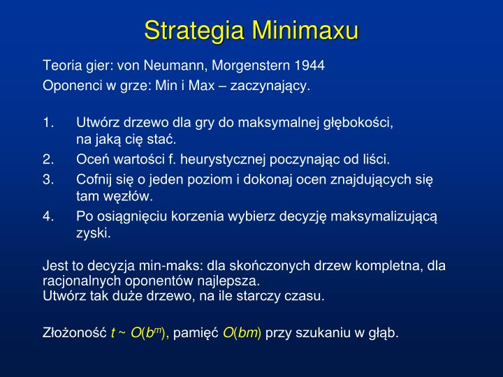 Strategia Minimaxu