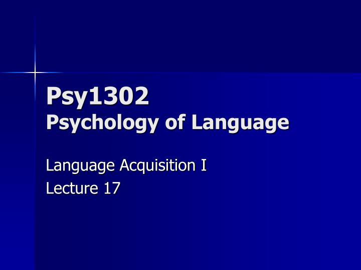 Psy1302