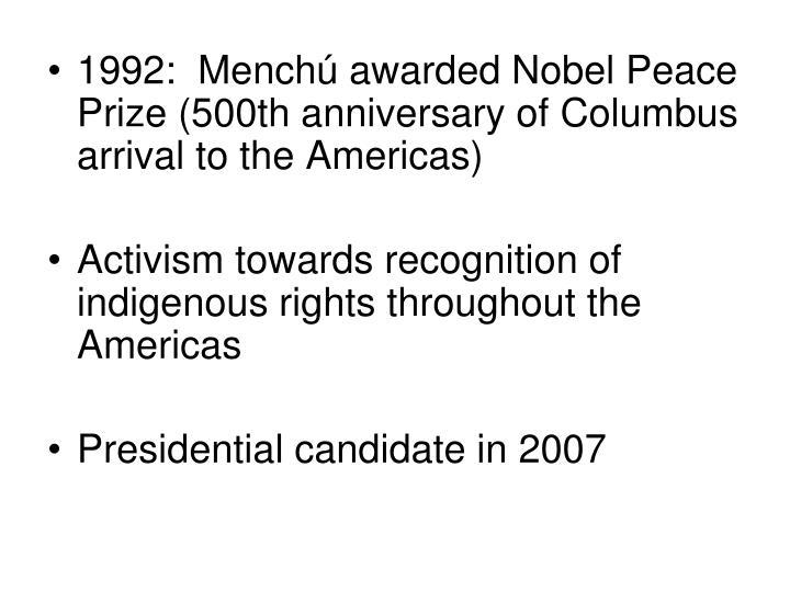 1992:  Mench