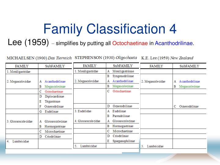 Family Classification 4