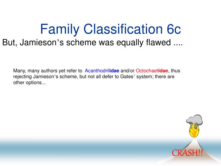 Family Classification 6c