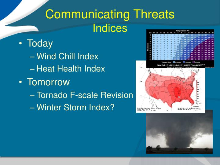 Communicating Threats