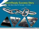 stormready success story van wert ohio f4 tornado 11 10 02