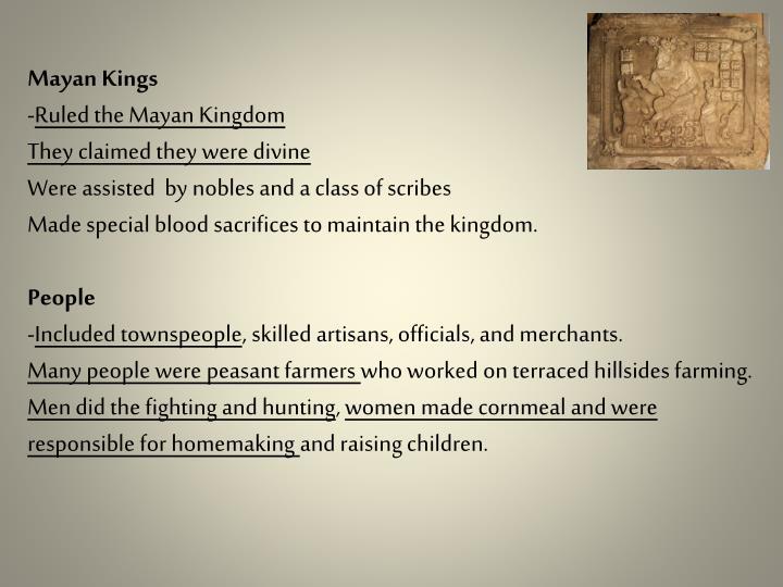 Mayan Kings