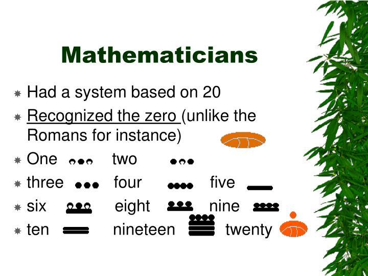 Mathematicians