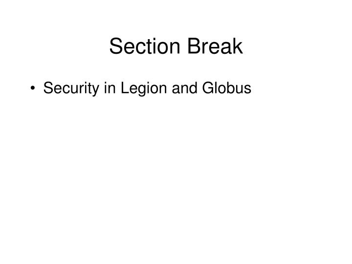 Section Break
