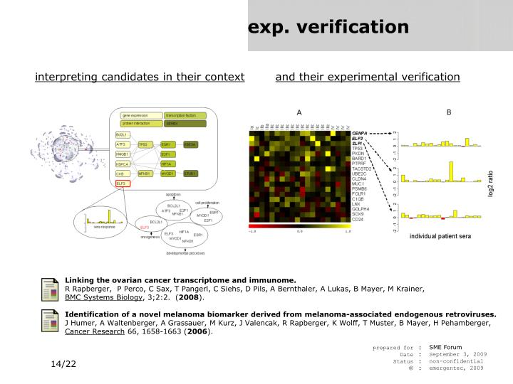 and their experimental verification