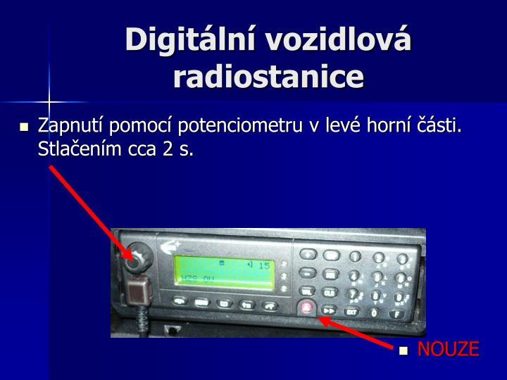 Digitální vozidlová radiostanice