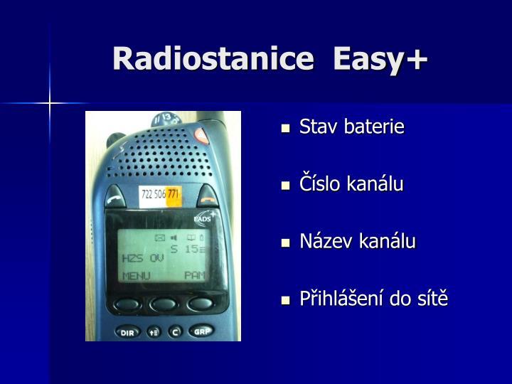 Radiostanice  Easy+