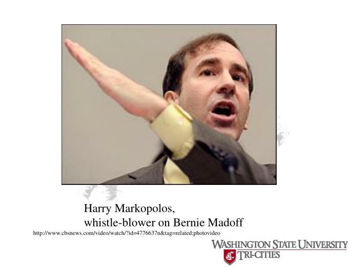 Harry Markopolos,