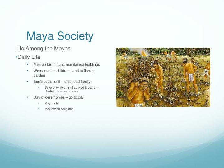 Maya Society