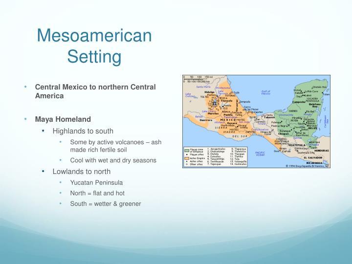 Mesoamerican Setting