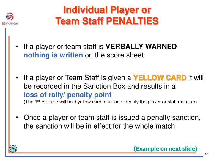 Individual Player or
