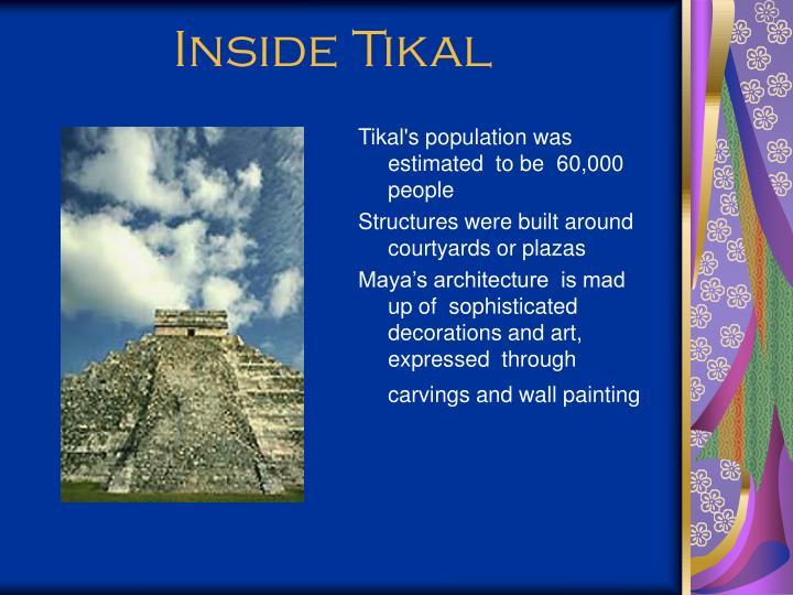Inside Tikal