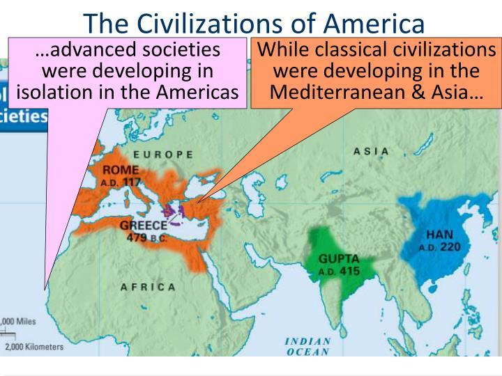 The Civilizations of America