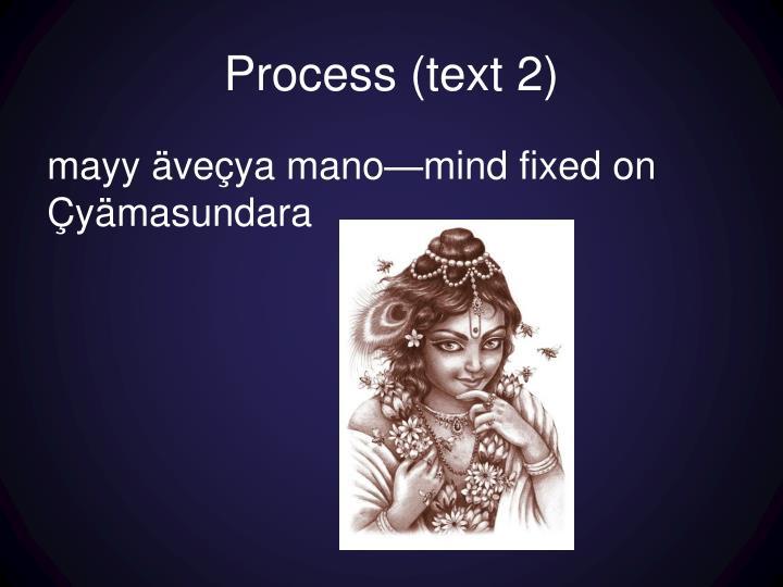 Process (text 2)