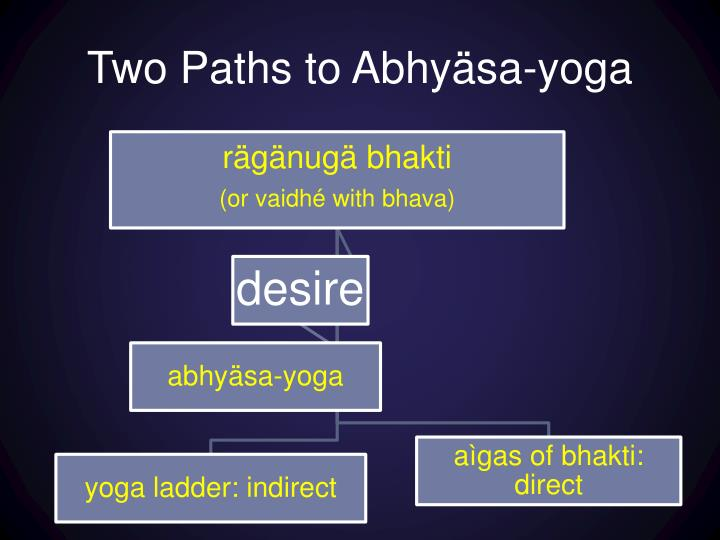 Two Paths to