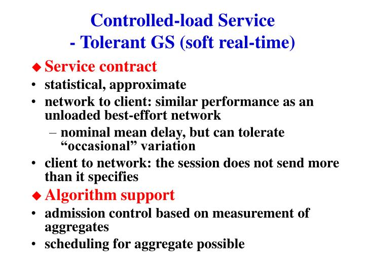 Controlled-load Service