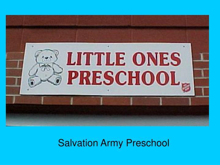 Salvation Army Preschool