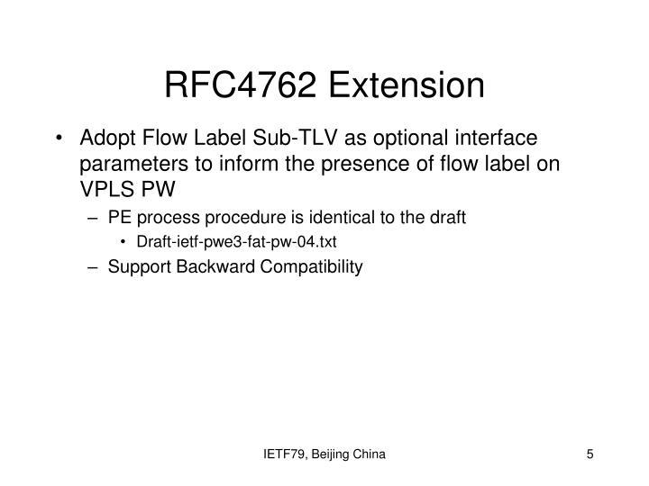 RFC4762 Extension