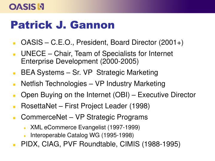 Patrick J. Gannon