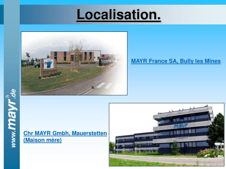 Localisation.
