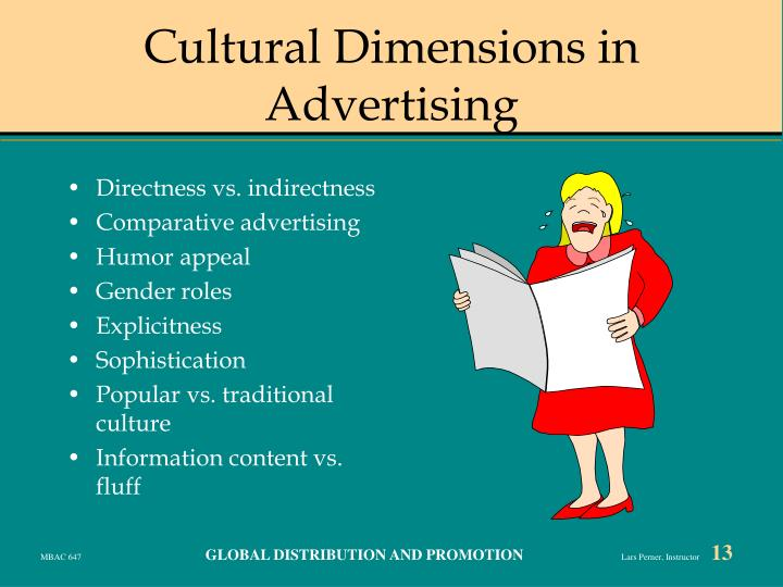 Cultural Dimensions in Advertising