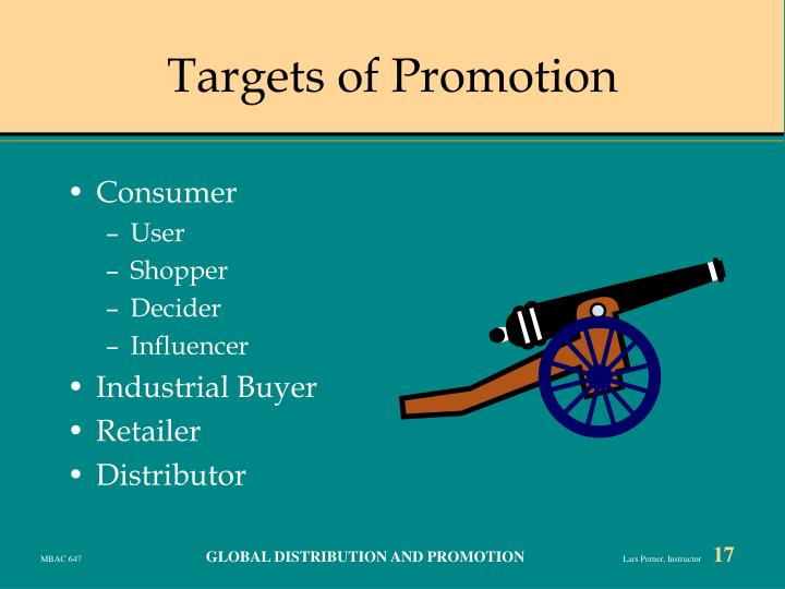 Targets of Promotion