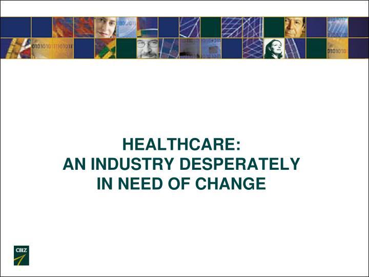 Healthcare: