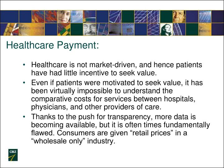 Healthcare Payment: