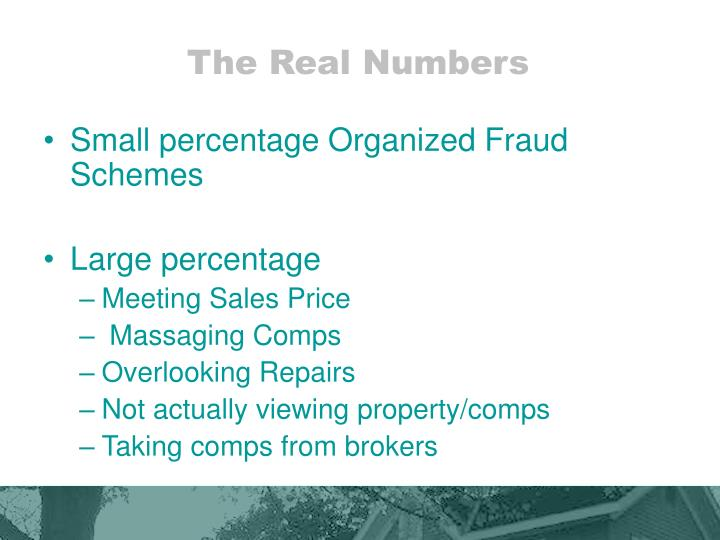 The Real Numbers