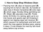 5 how to keep shop windows clean