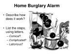home burglary alarm