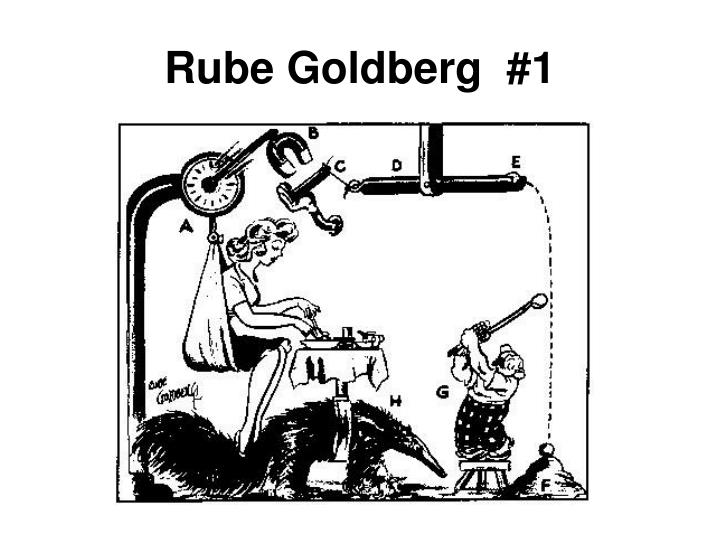 Rube Goldberg  #1