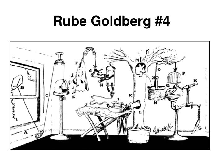 Rube Goldberg #4