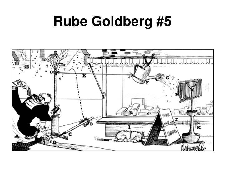 Rube Goldberg #5