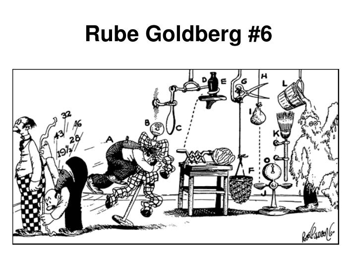 Rube Goldberg #6