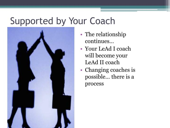 Supported by Your Coach