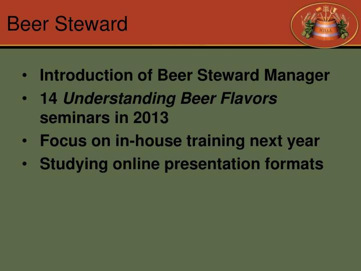 Beer Steward
